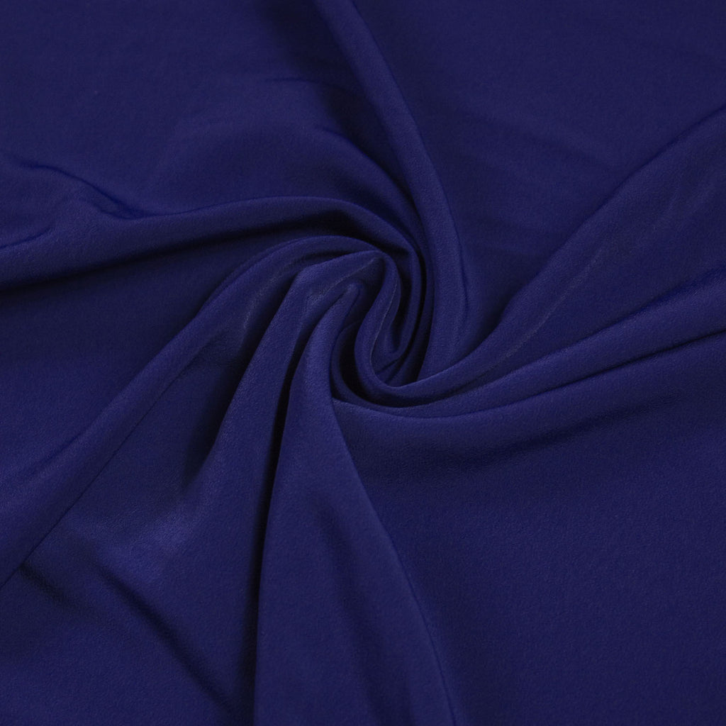 Royal Blue Luxury Crêpe Polyester