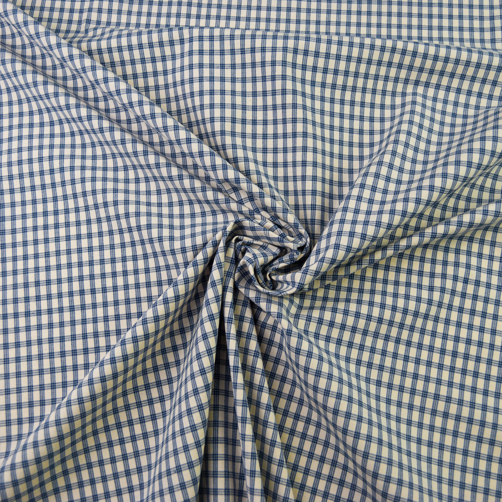 Jack Navy & Cream Check Cotton