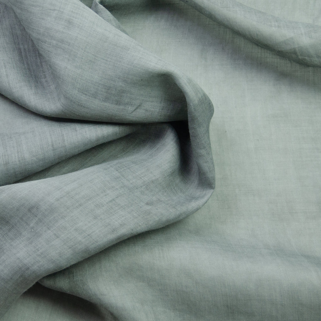 Reiki Cloud Grey Polyester Acetate Voile