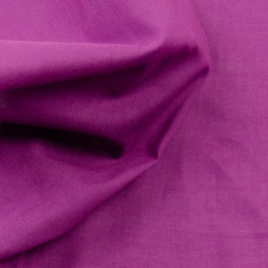 Rhonda Plum Purple Cotton Poplin