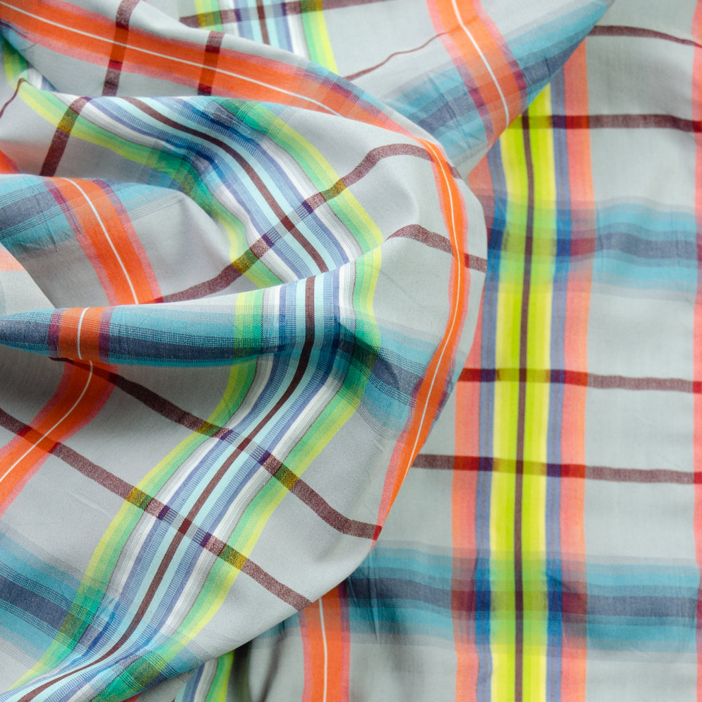 Rayden Radiant Colour Tartan Stretch Cotton