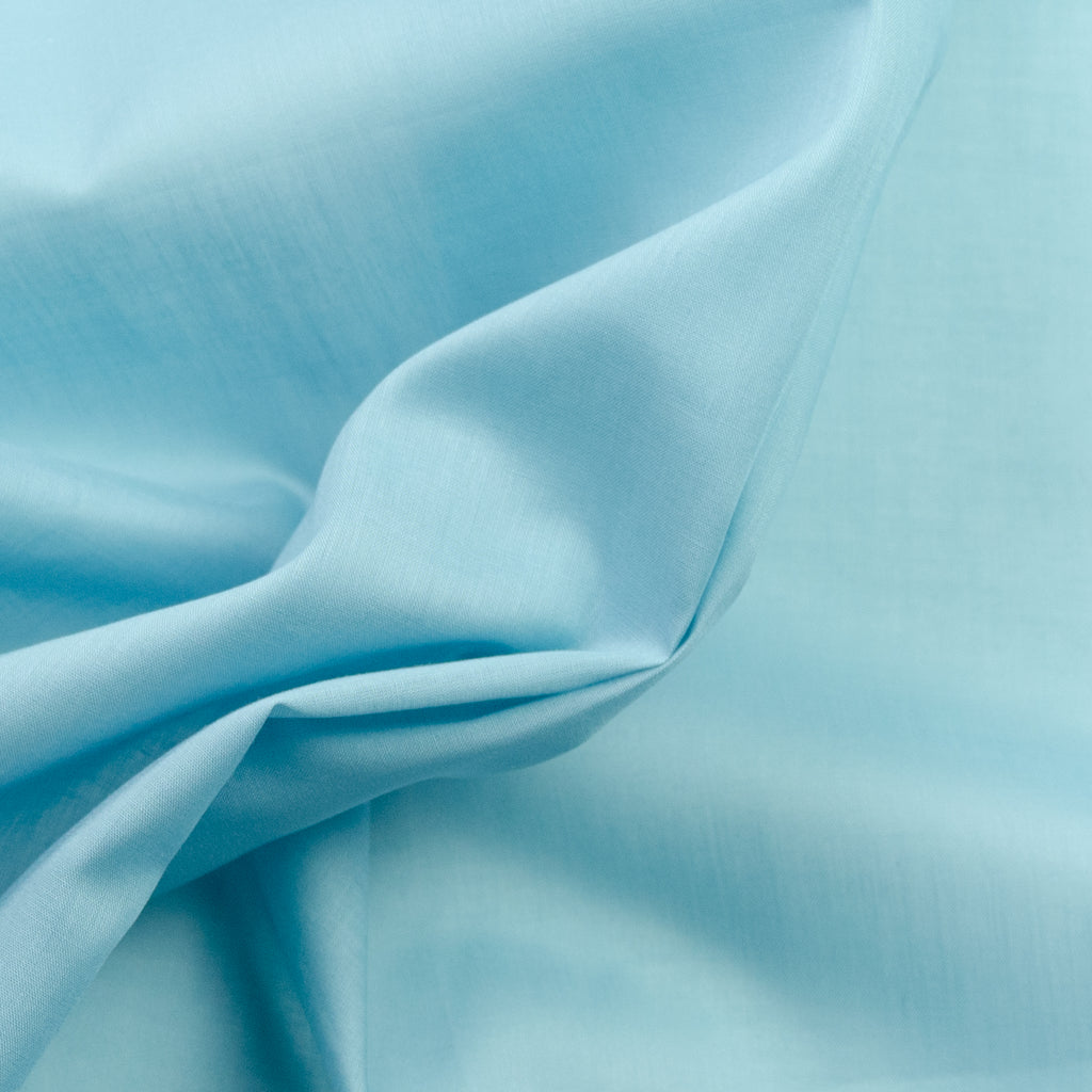 Ralph Sea Blue Cotton Voile