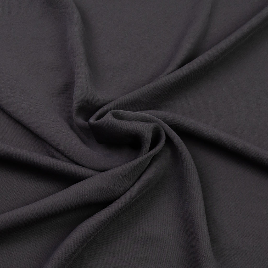 Richmond Smokey Grey Voile Polyester