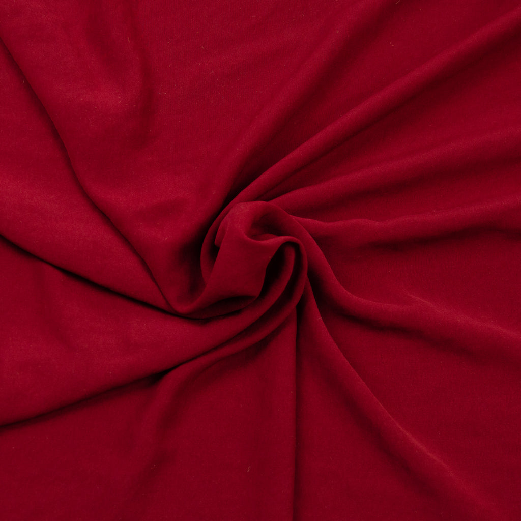 Reese Red Breeze Polyester Satin