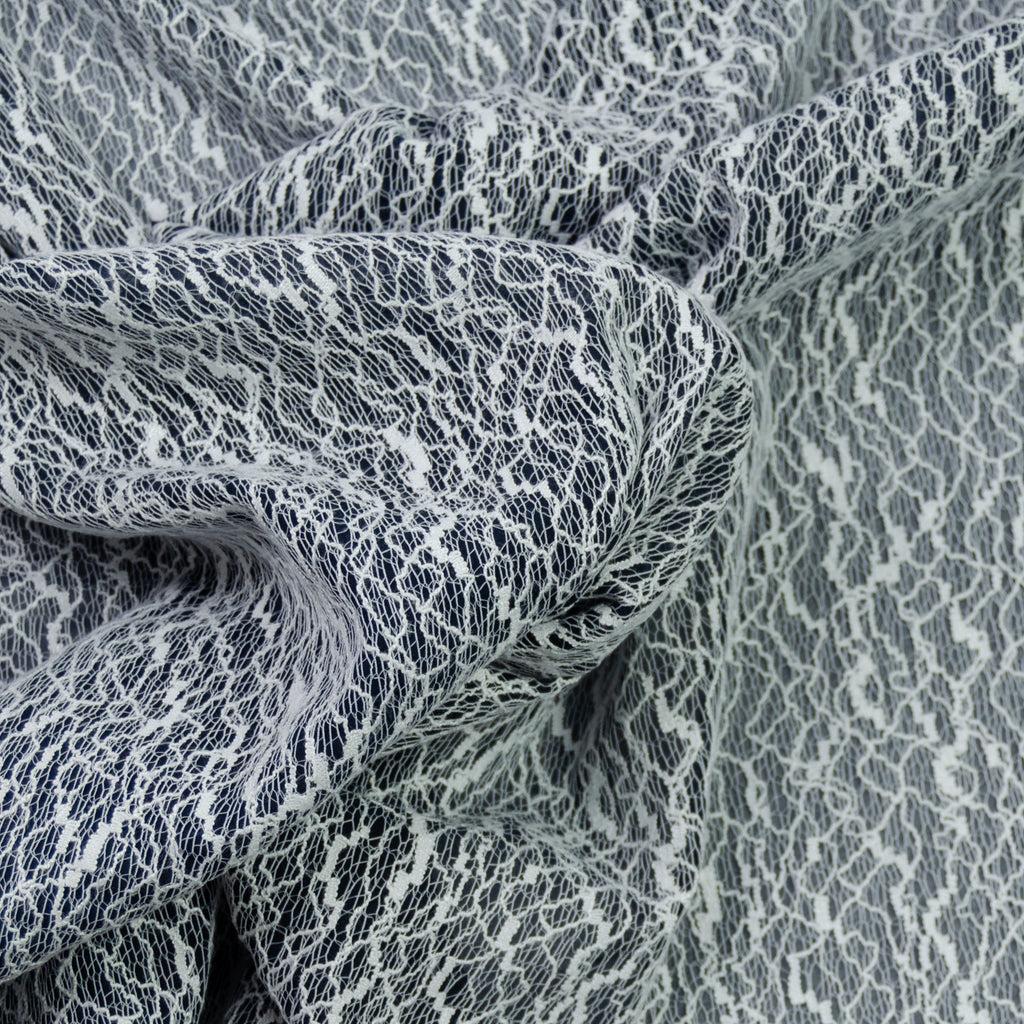 Rad Grey White Polycotton Voile