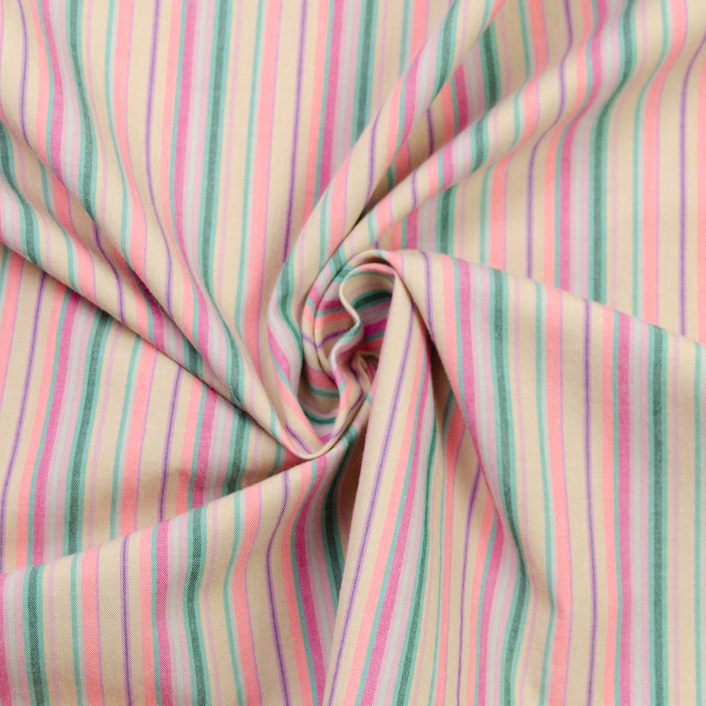 Ruby Rainbow Pink Cotton