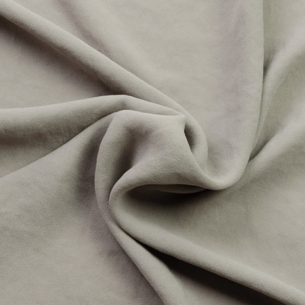 Rebecca Grey Beige Crepe Polyester
