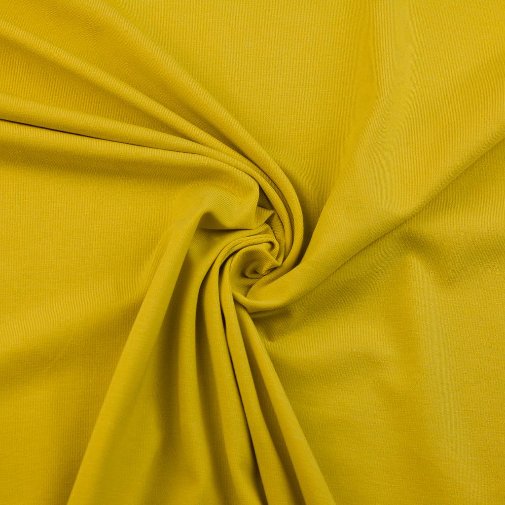 Canary Yellow Viscose Jersey