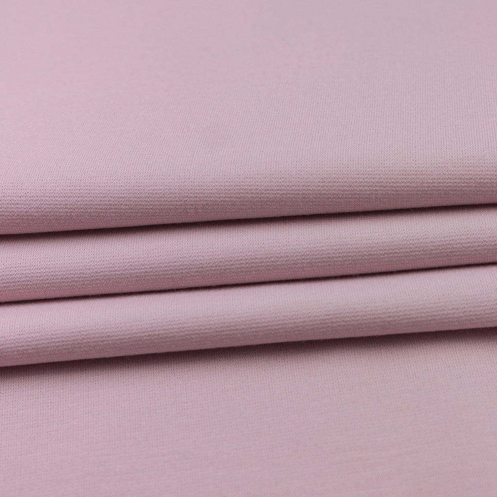 Dusty Pink Viscose And Polyamide Jersey