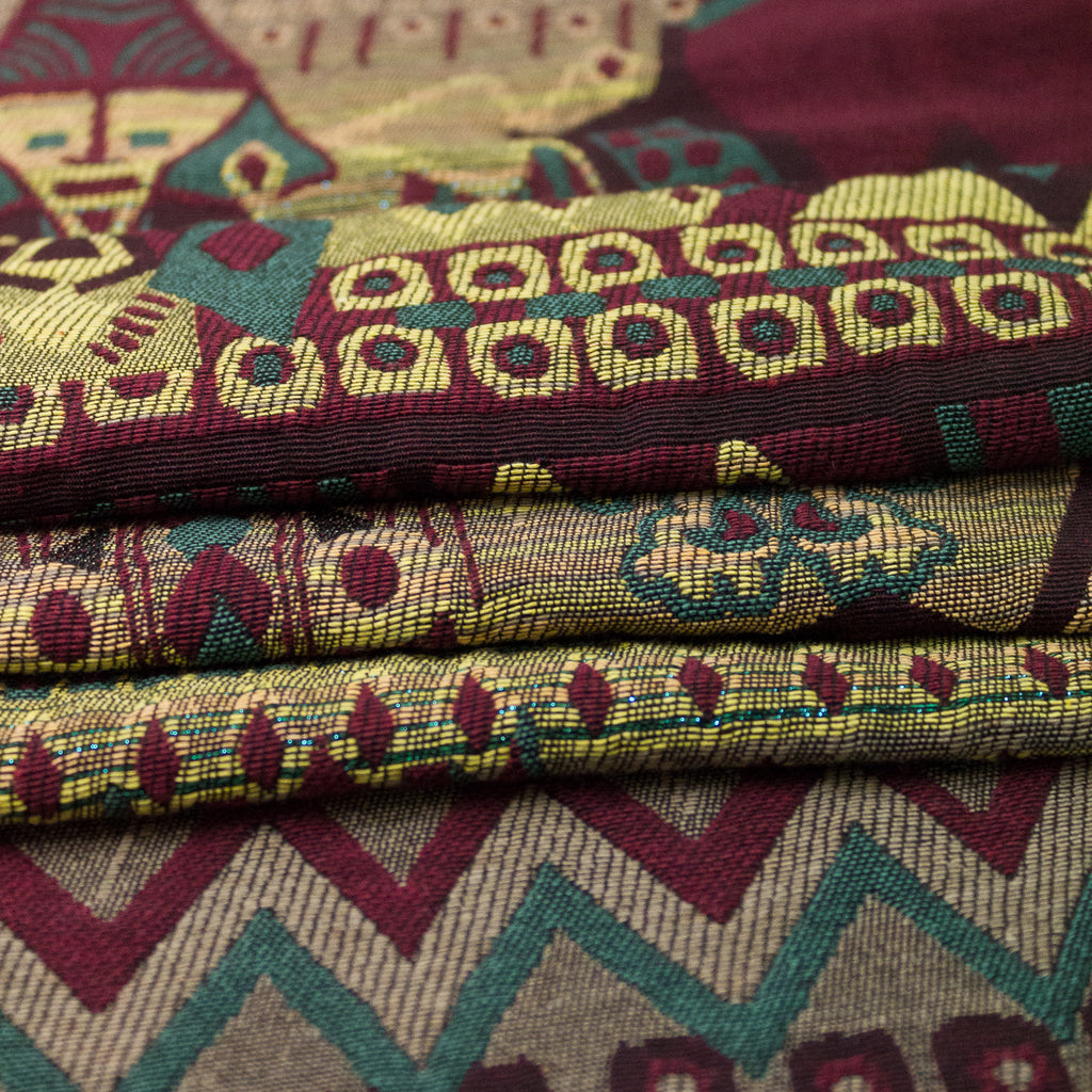 Ethnic Cotton Blend Jacquard