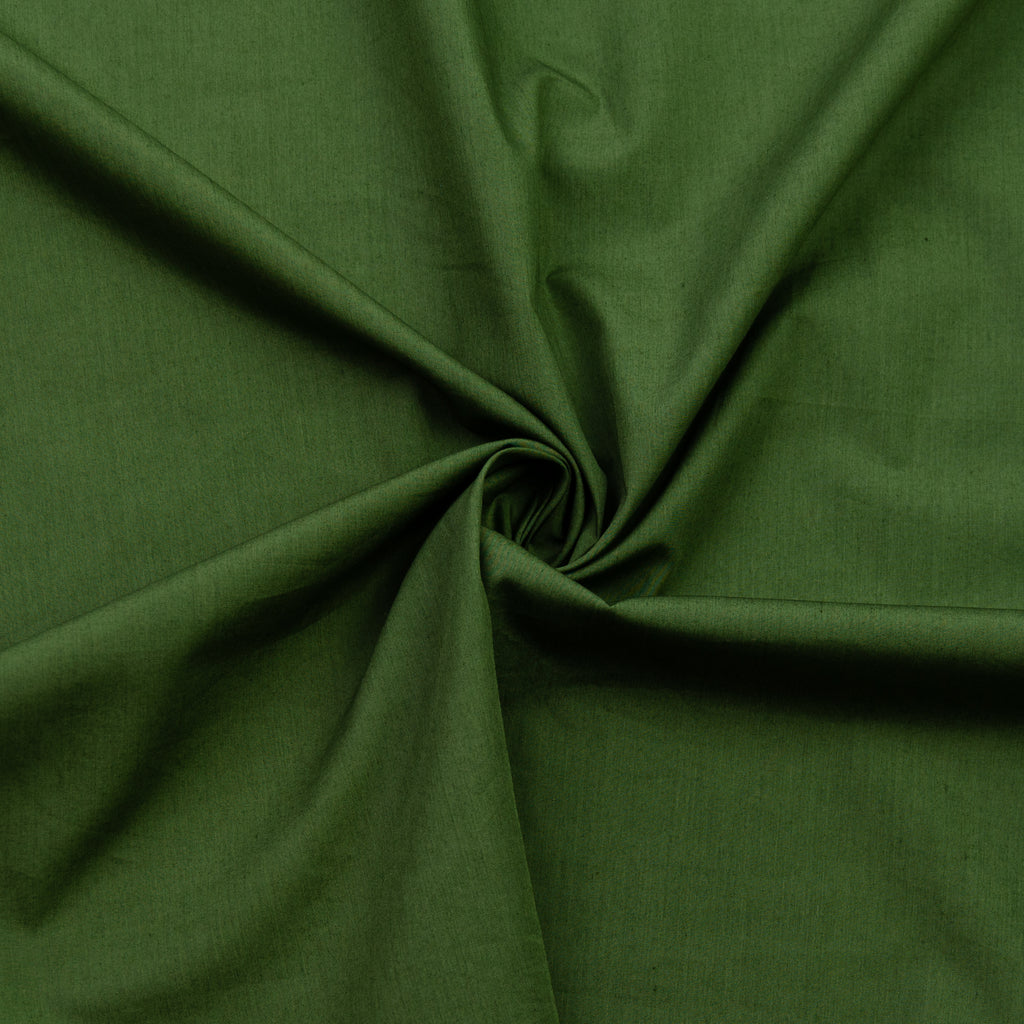 Tabor Olive Green Cotton