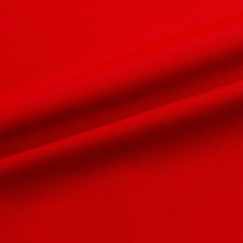 Victoria Red Cotton Voile