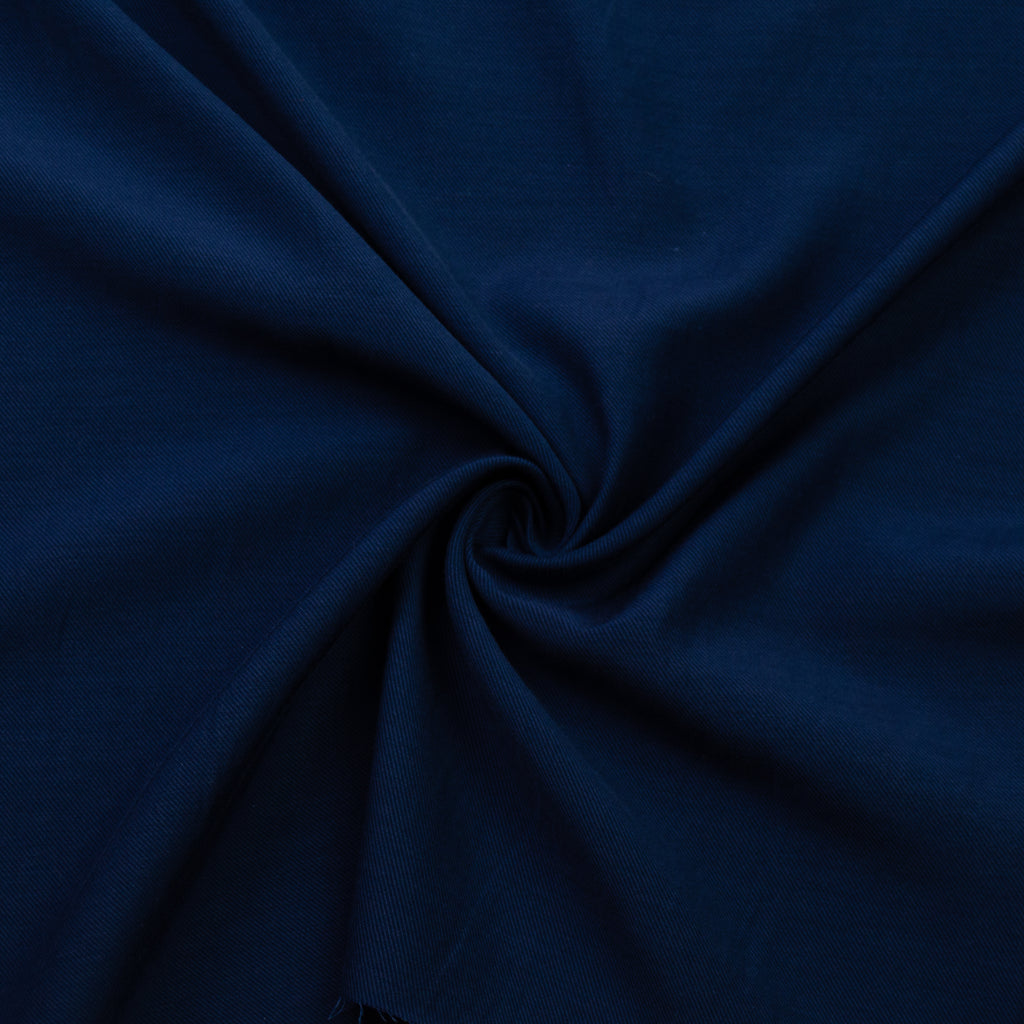 Thad Blue Cotton Twill