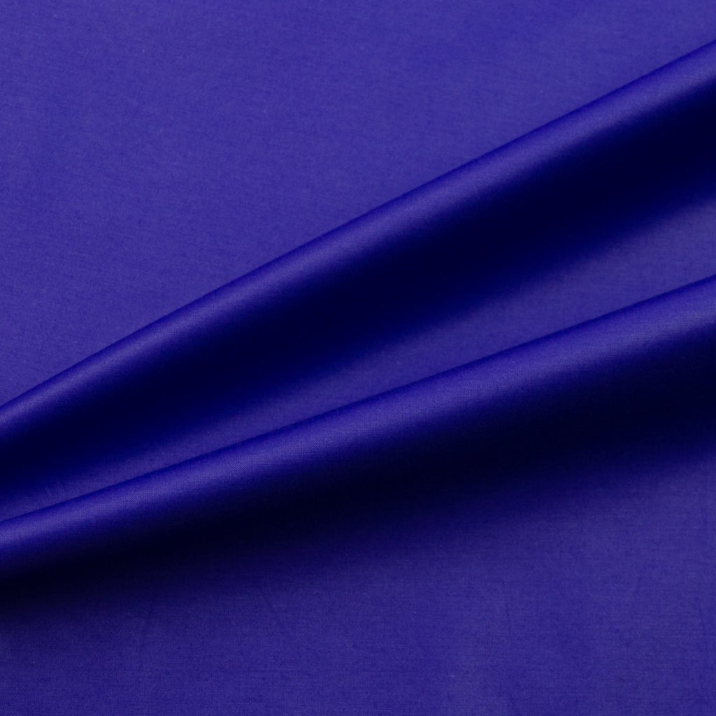 Teague Purple Cotton Satin