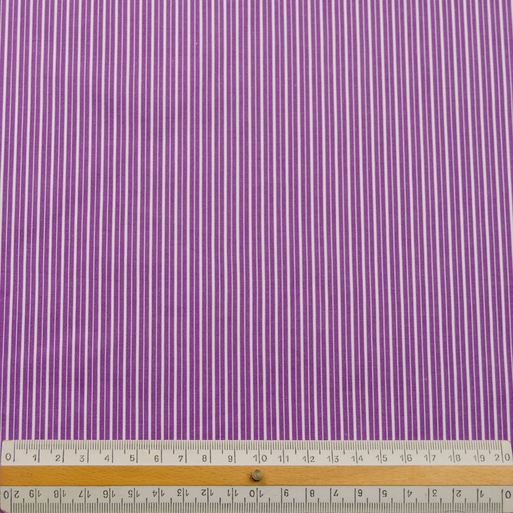 Trevet Purple Striped Cotton