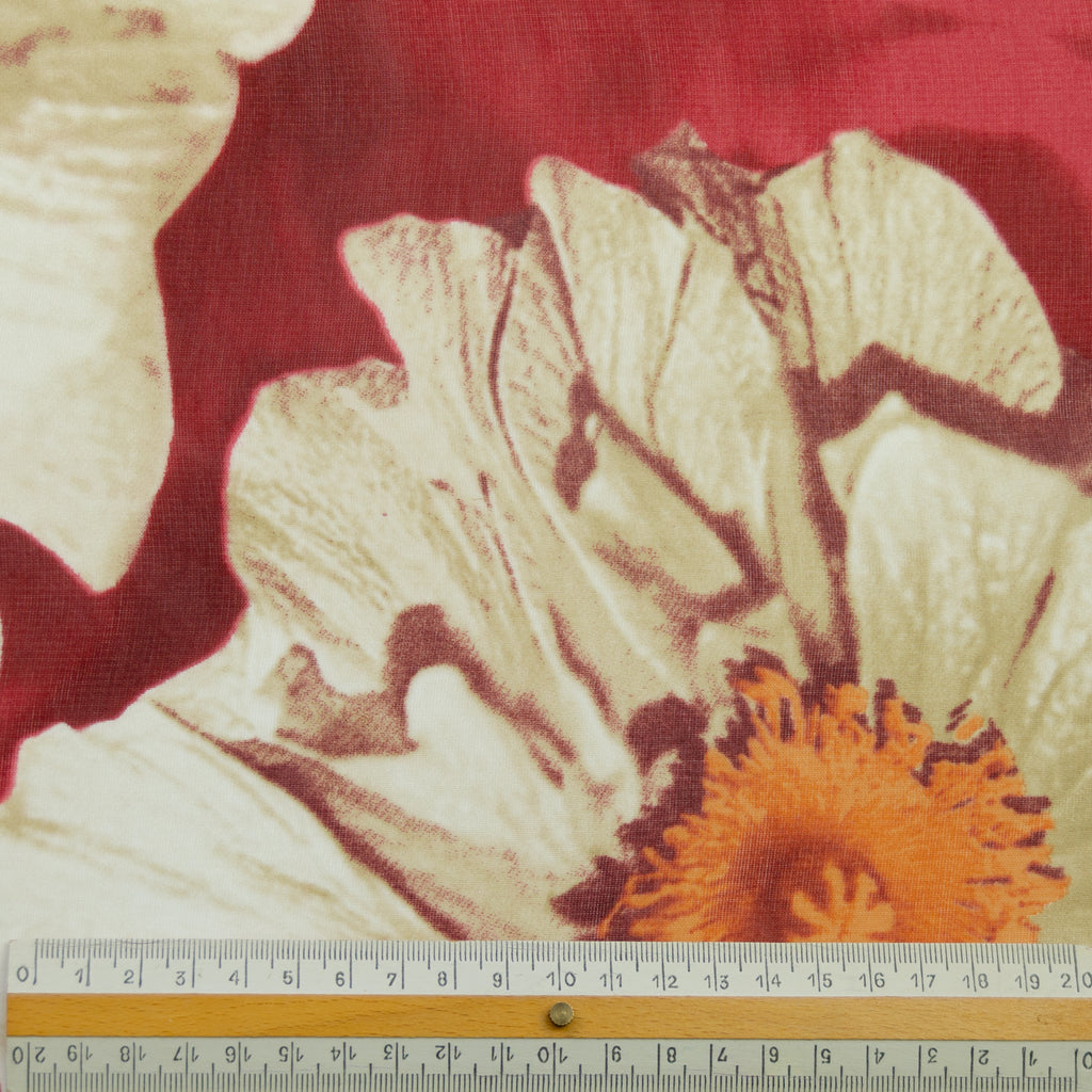 Tonia Floral Polyester Voile