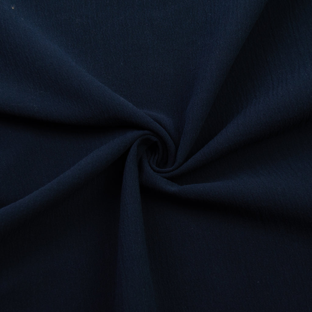 Taijo Navy Blue Cotton Double Gauze
