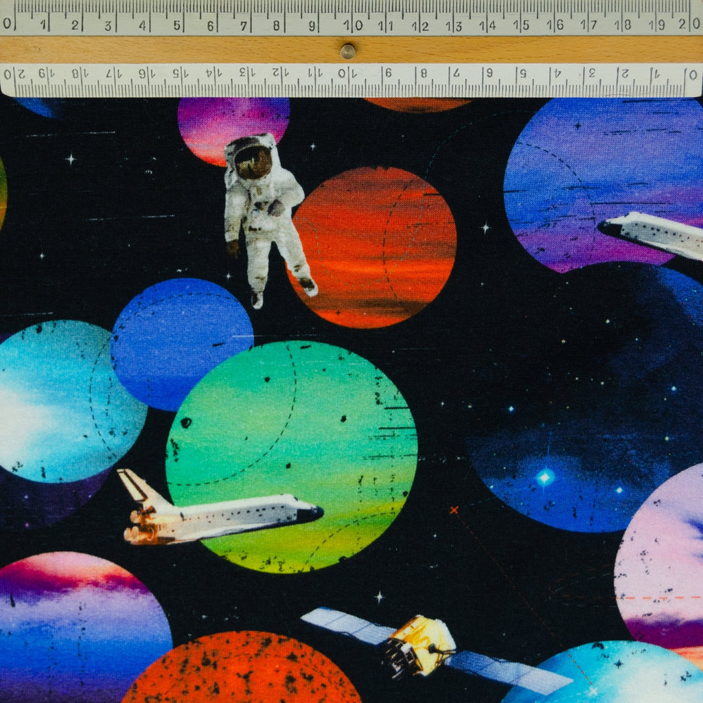 Pluto Space Cotton Jersey