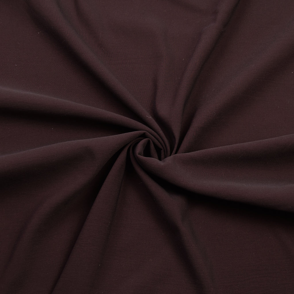 Tan Brown Stretch Polyester