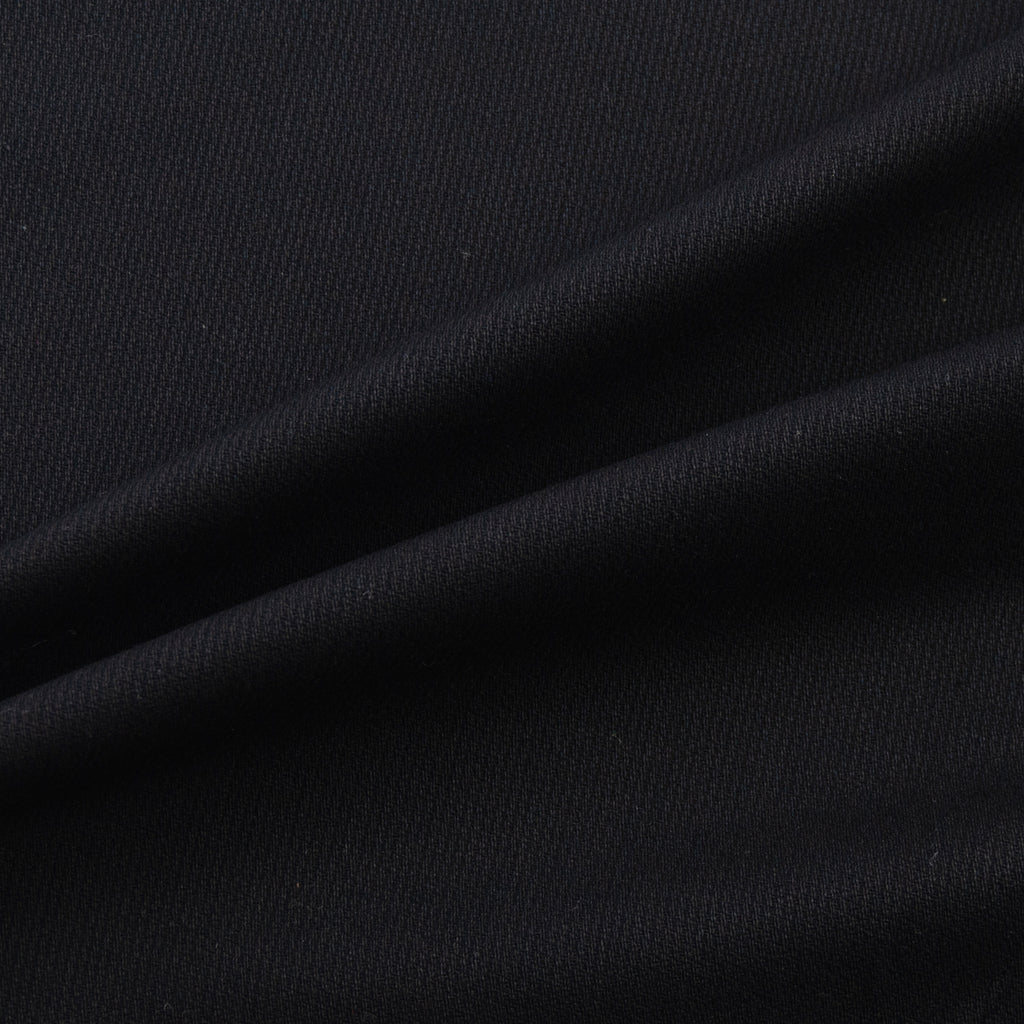 Tal Black Ribs Cotton Stretch
