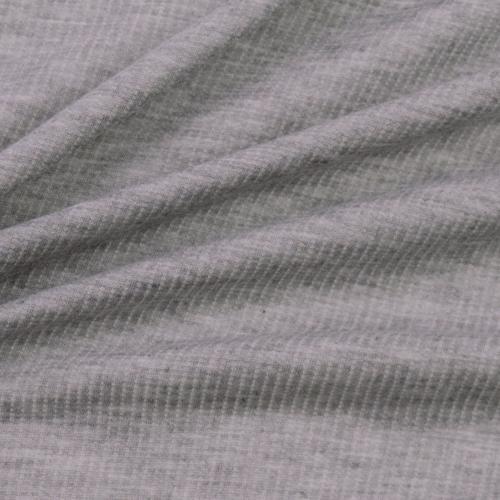 Lucy Grey Ribs Cotton Jersey