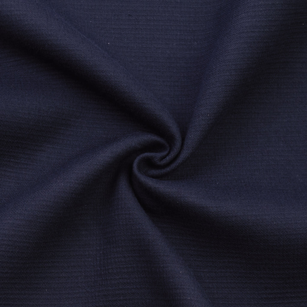 Sautu Navy Double Cotton Gauze