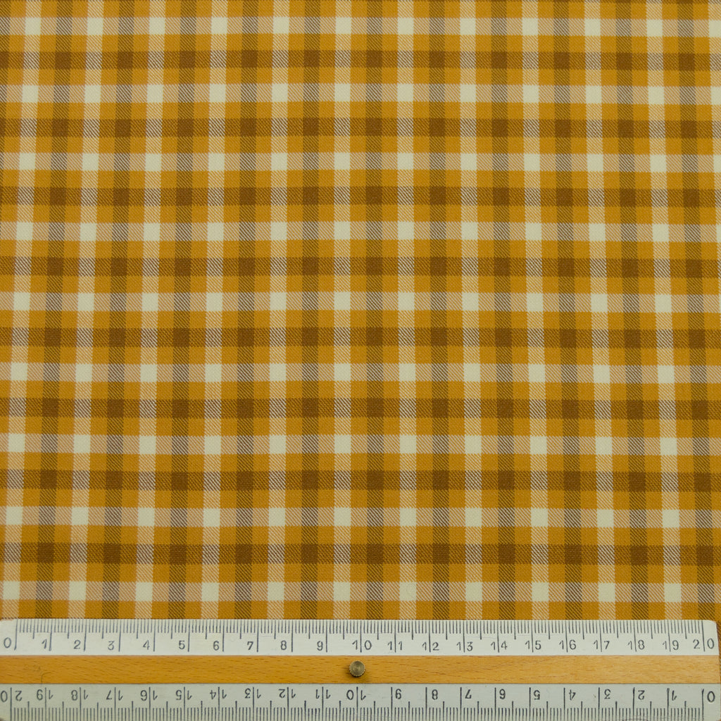 Nina Tartan Summer Suiting Wool