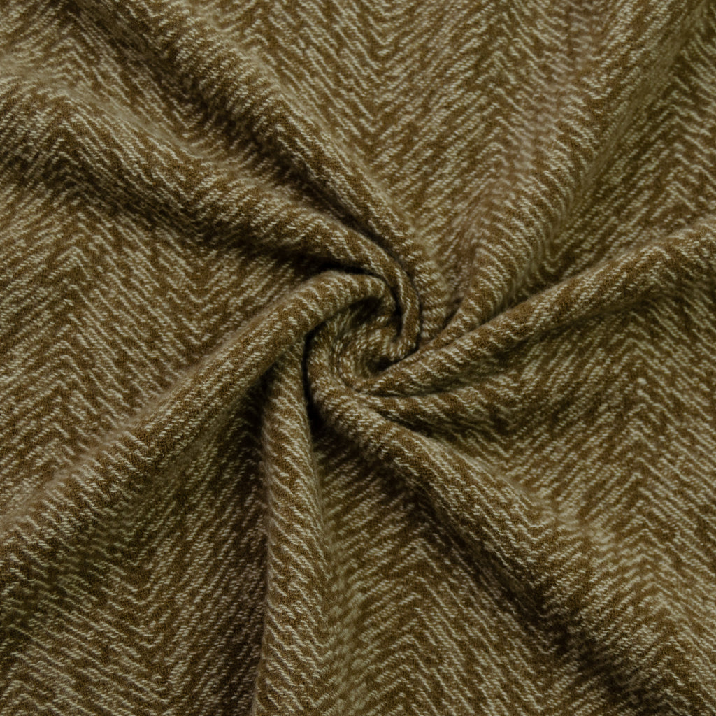 Sadaf Brown Virgin Wool & Cashmere Blend