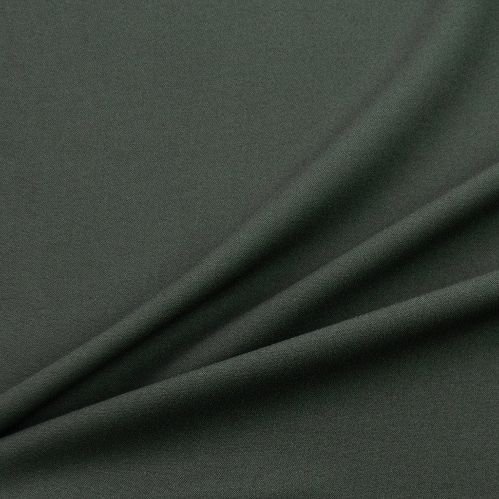 Teddington Green Grey Viscose Crepe