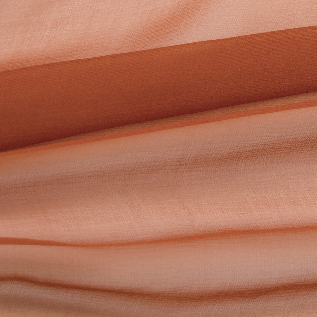 Taman Rust Silk Mousseline