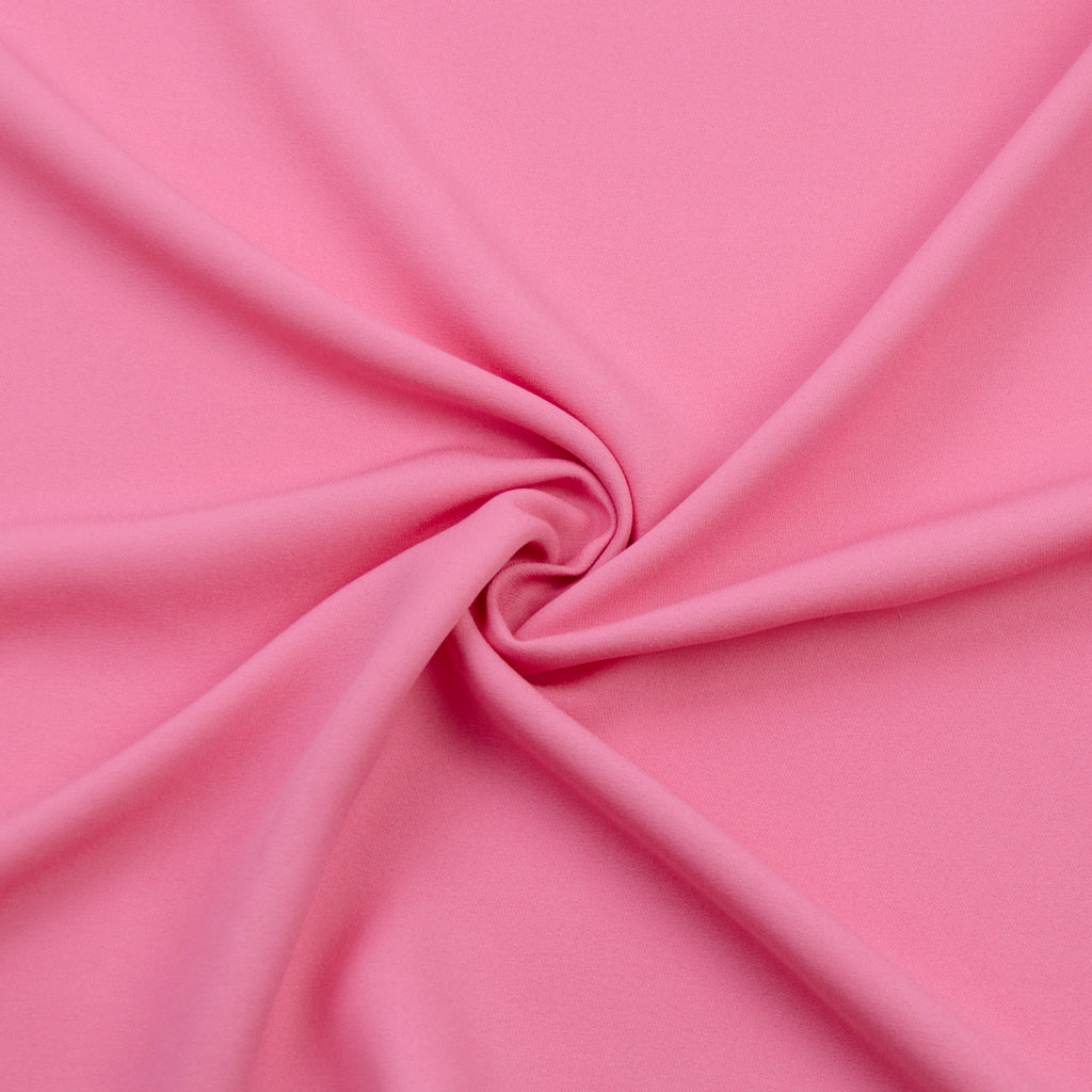 Ted Pink Crepe Sable Viscose