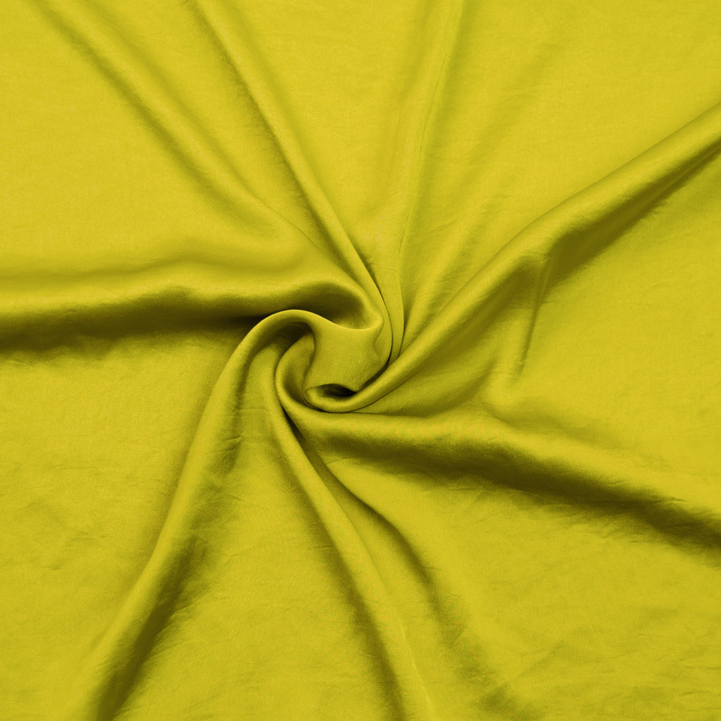 Lauren Yellow Polyester Satin