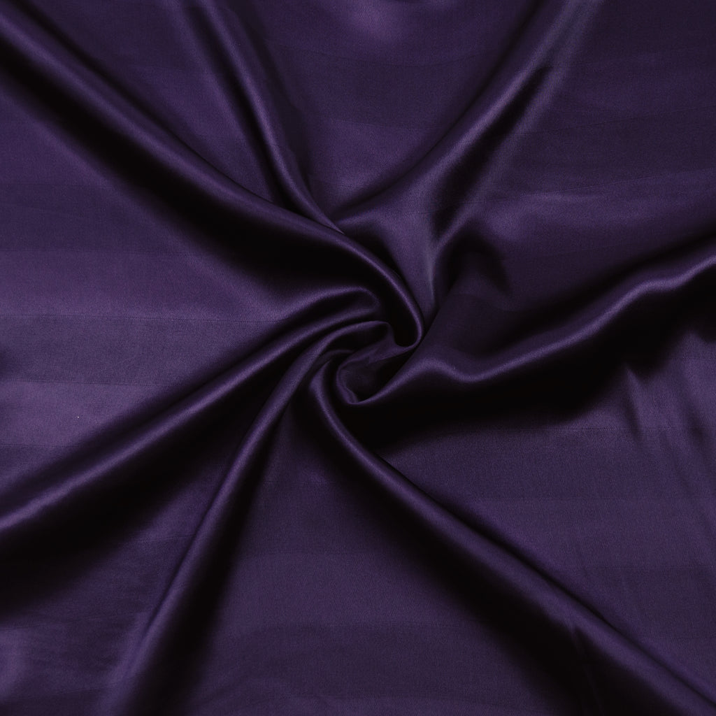 Salem Purple Silk Jaquard Satin