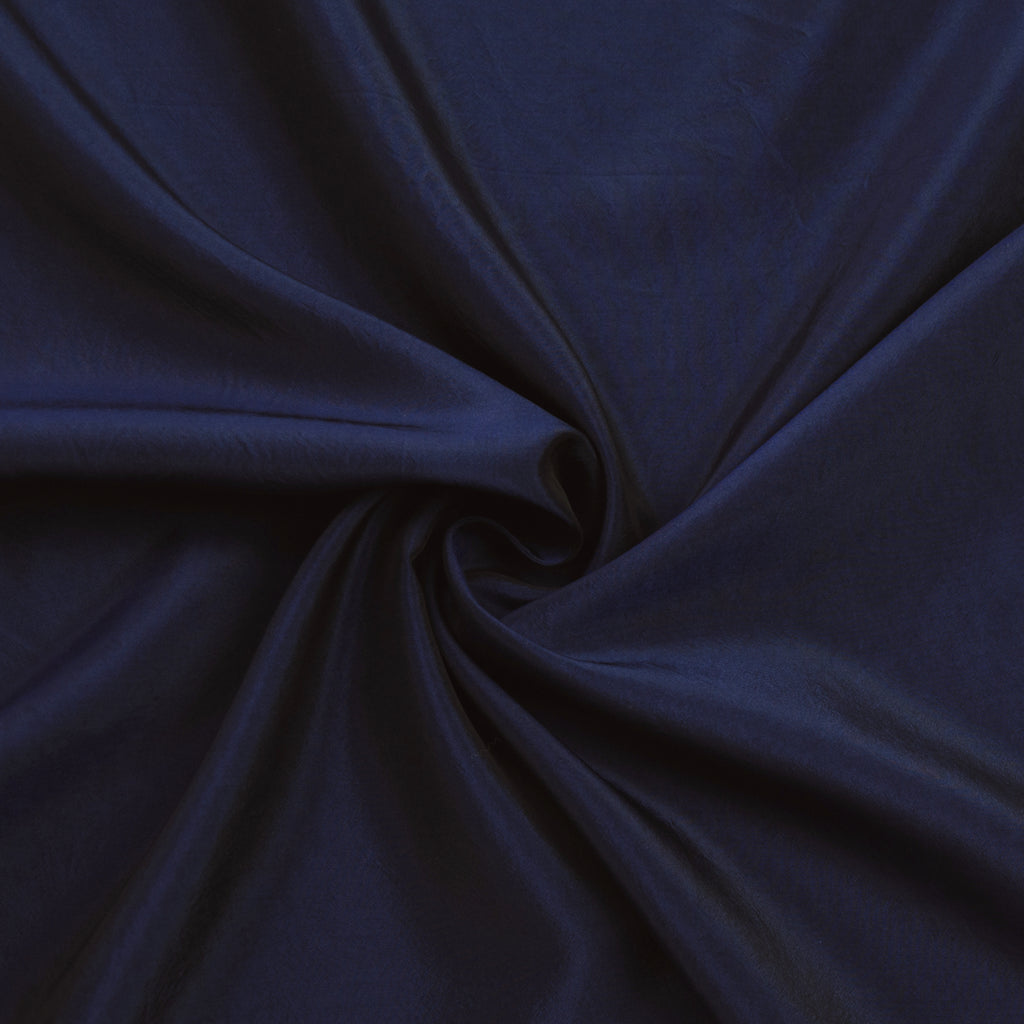 Saroja Navy Blue Silk Satin