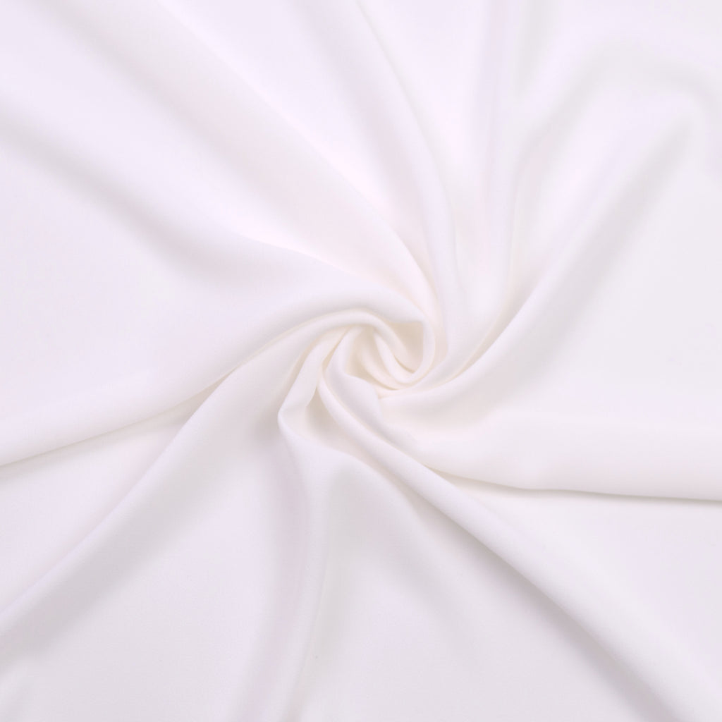Sani Off-white Polyester Voile