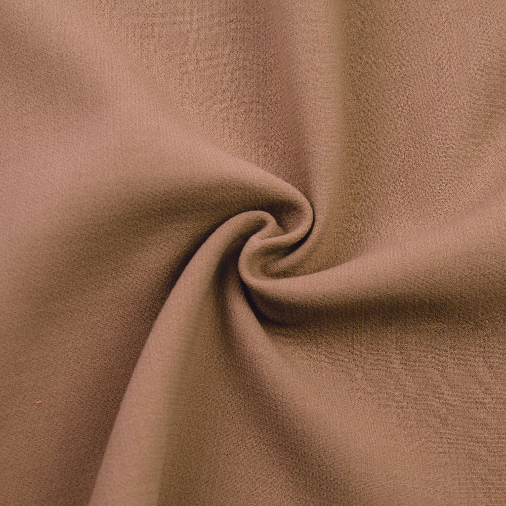 Tremain Camel Double-face Wool Crêpe