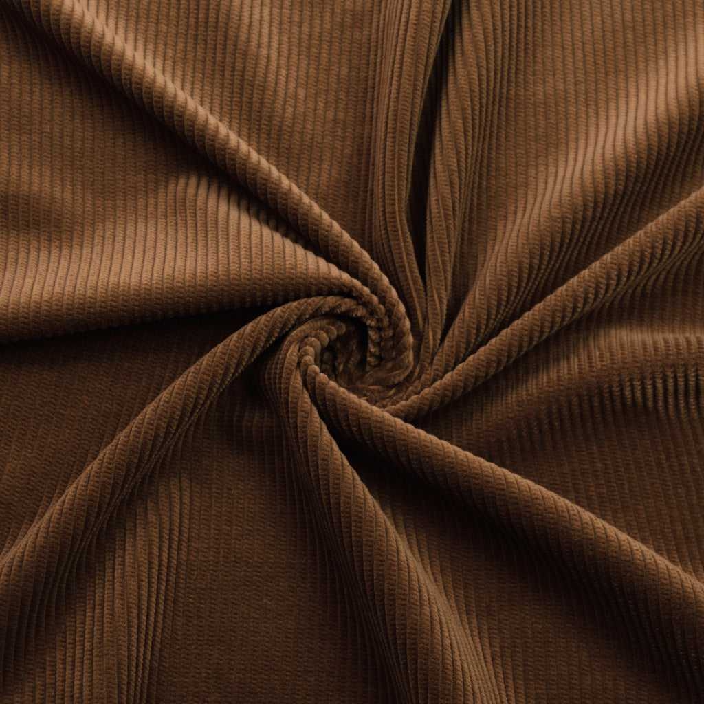 Jabir Brown Cotton Corduroy