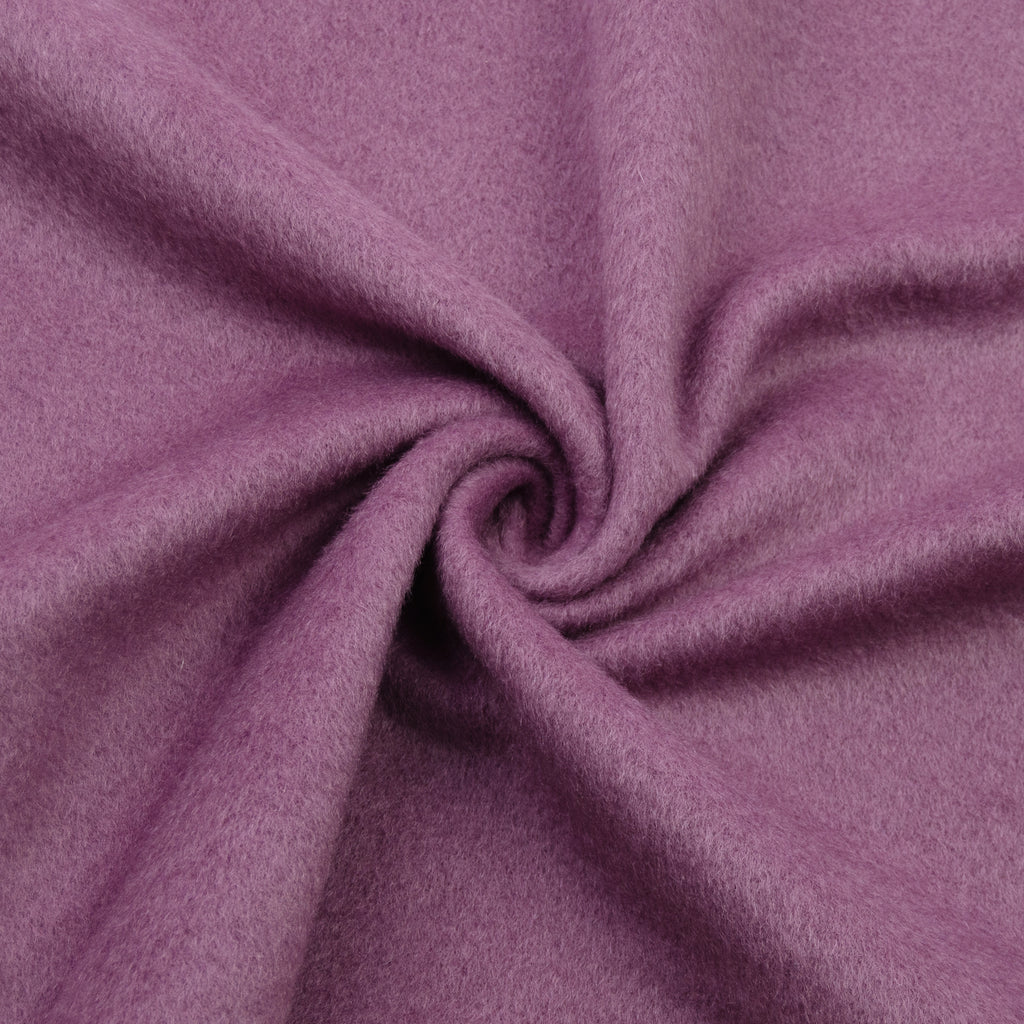 Jacory Plum Purple Wool Cashmere Blend
