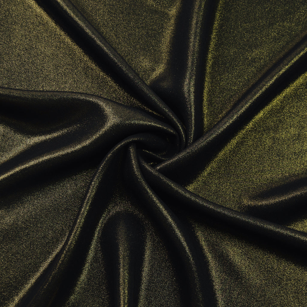 Jalene Black & Gold Polyester