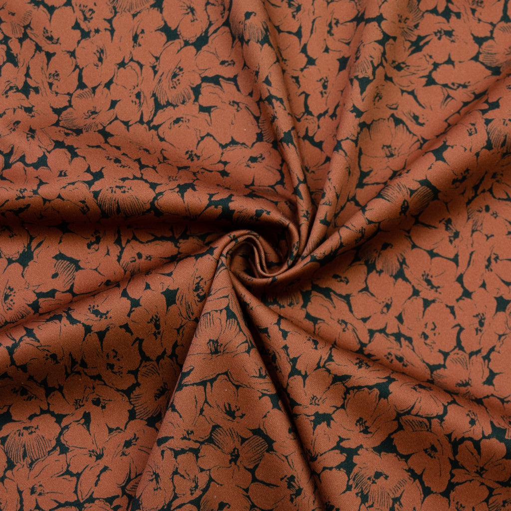 Tuliana Floral Print Stretch Cotton