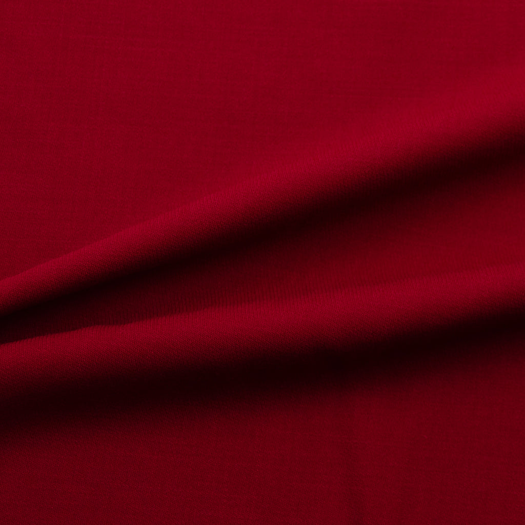 Jaunie Raspberry Red Stretch Wool