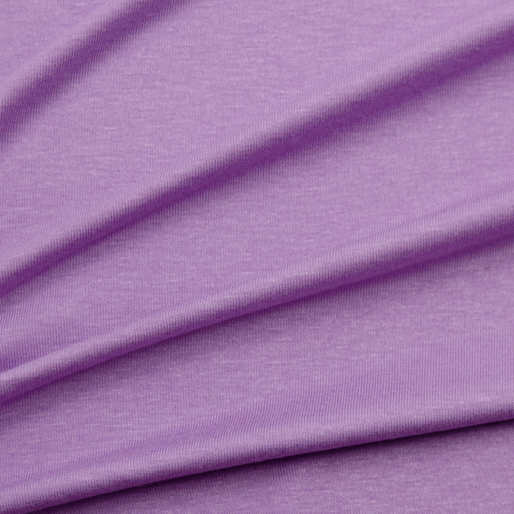 Jam Purple Viscose Jersey