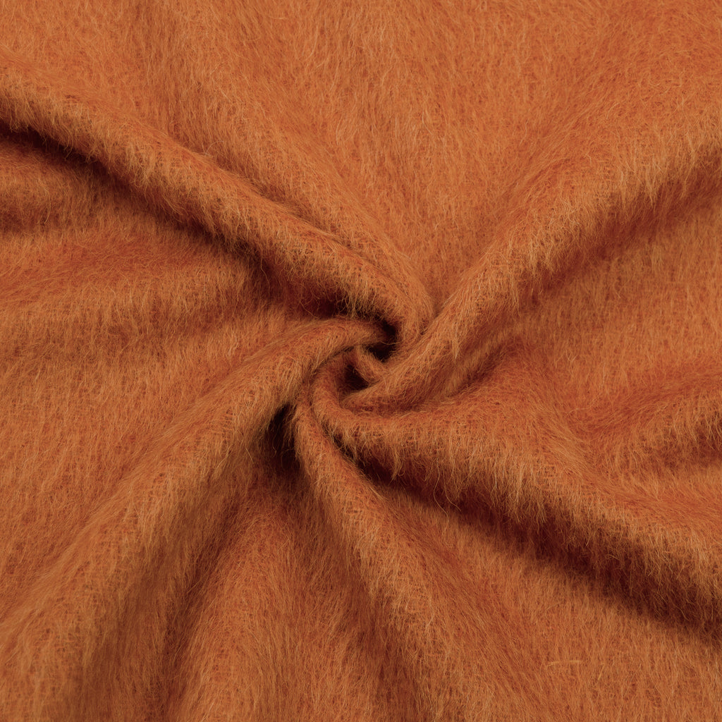 Safara Soft Orange Wool Mohair Blend