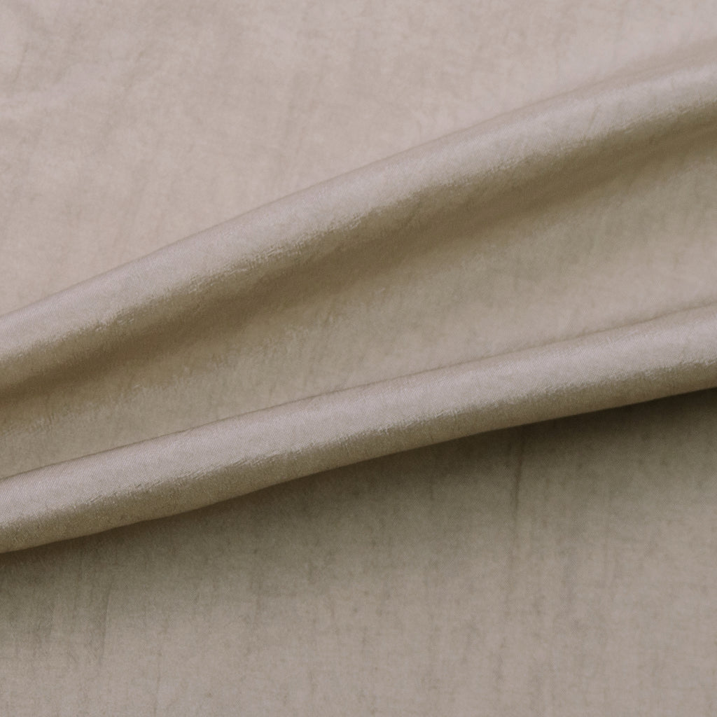 Tamma Beige Grey Polyester Lining