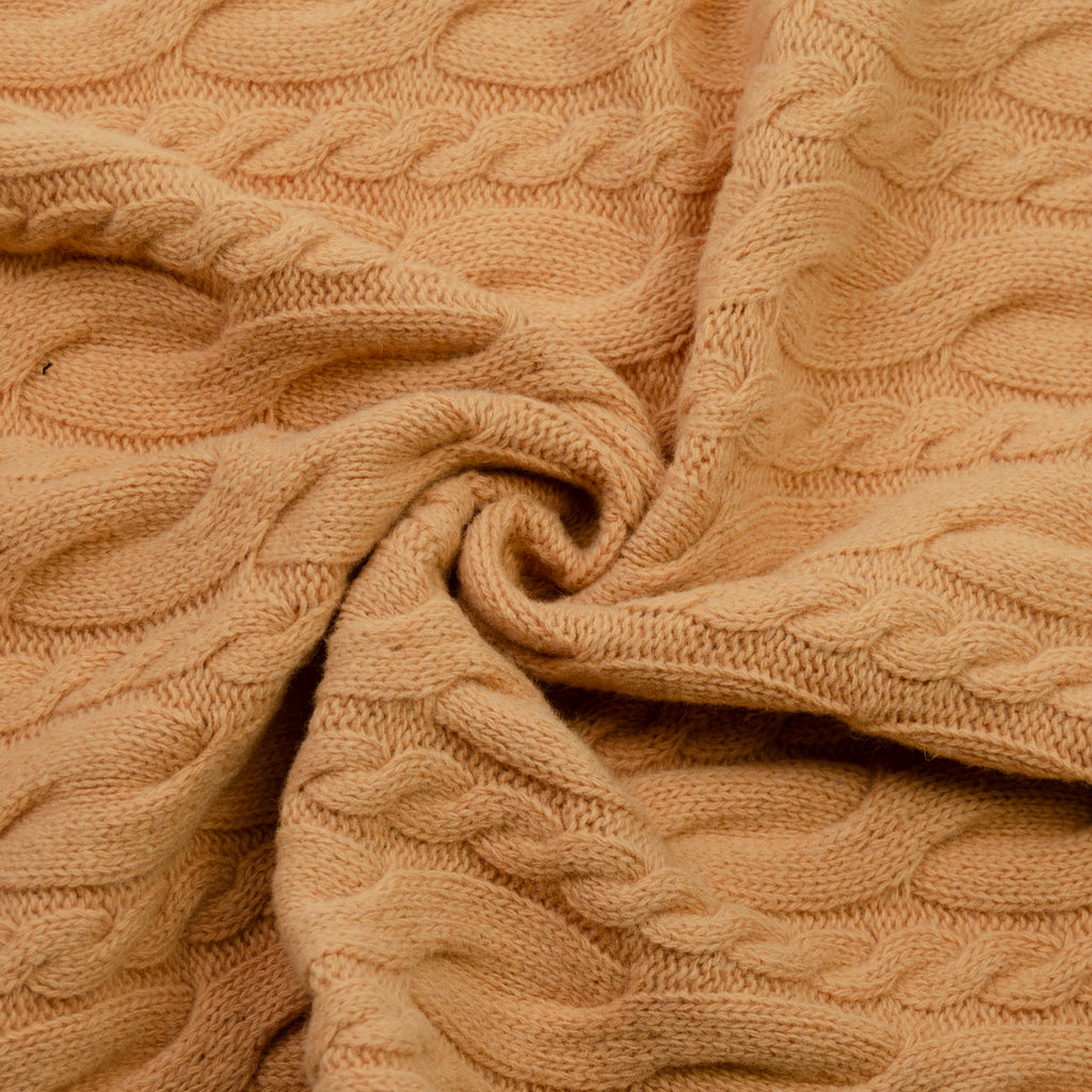 Sarlat Pale Orange Wool Knit