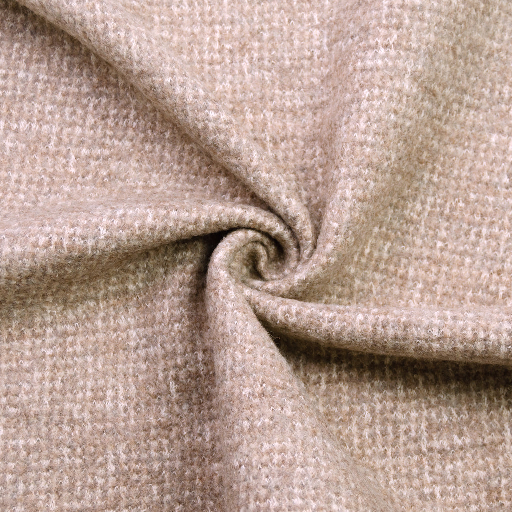 Jamira Beige Brown Wool