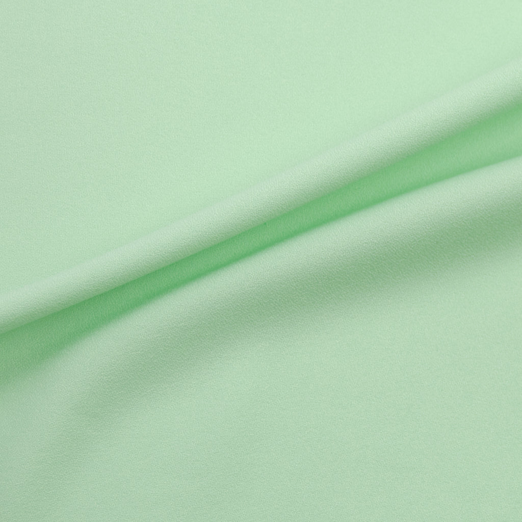Tiergan Mint Green Viscose Crepe