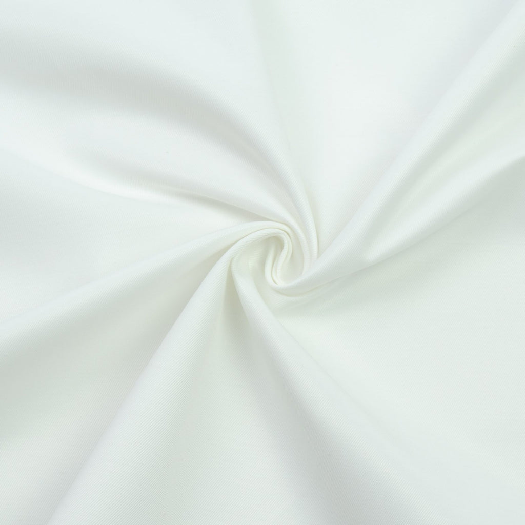 Sanja White Cotton Twill