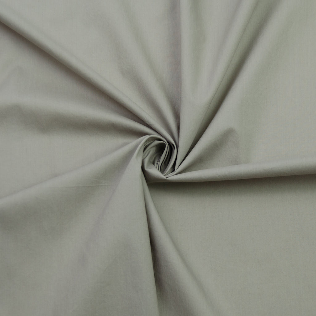 Amy Taupe Cotton Poplin