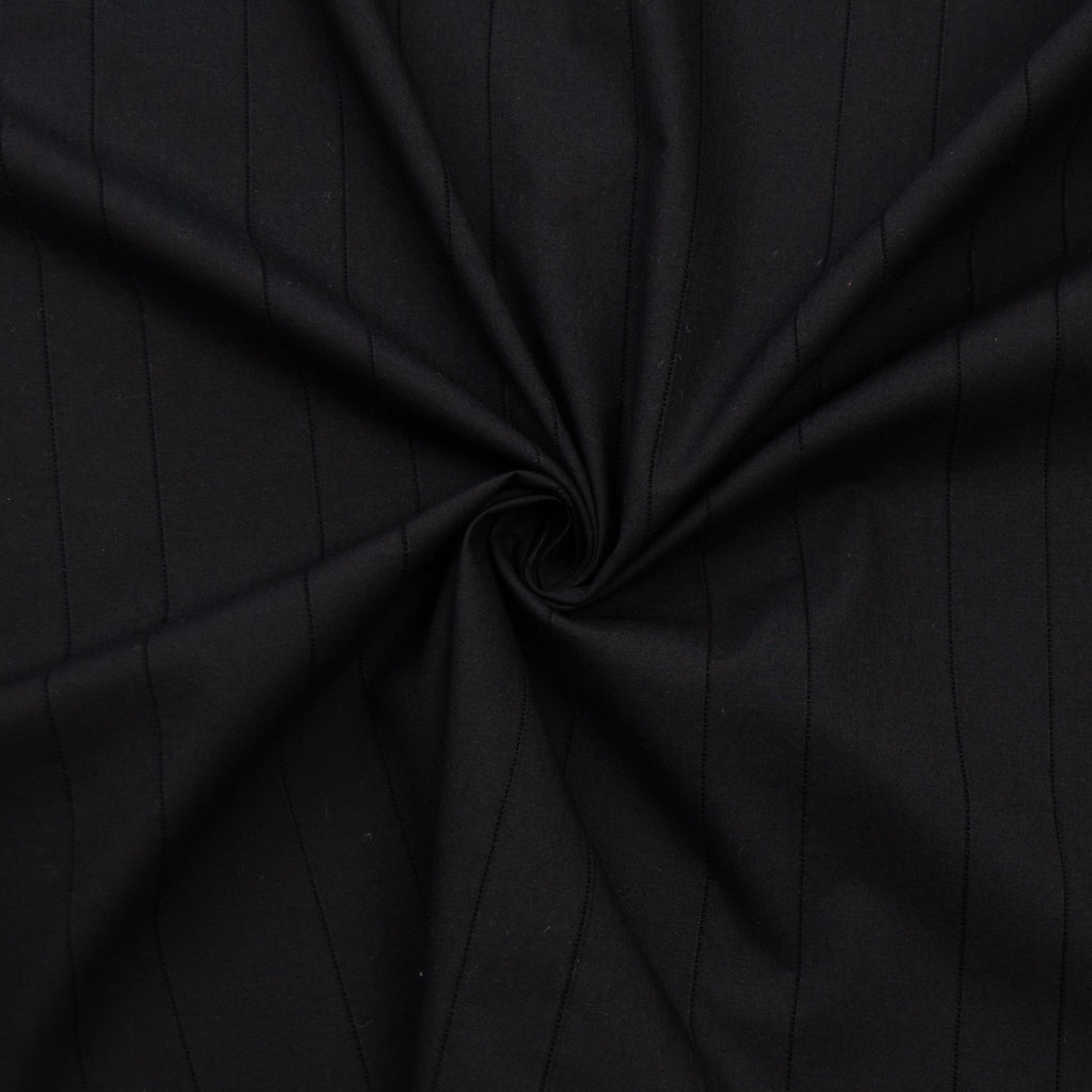 Tashia Black Stripe Cotton